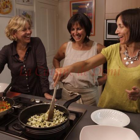 Atelier de cuisine personnalisé