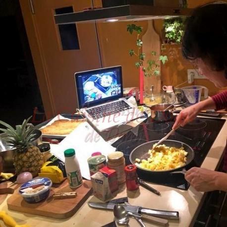 Zoom - cours de cuisine interactif