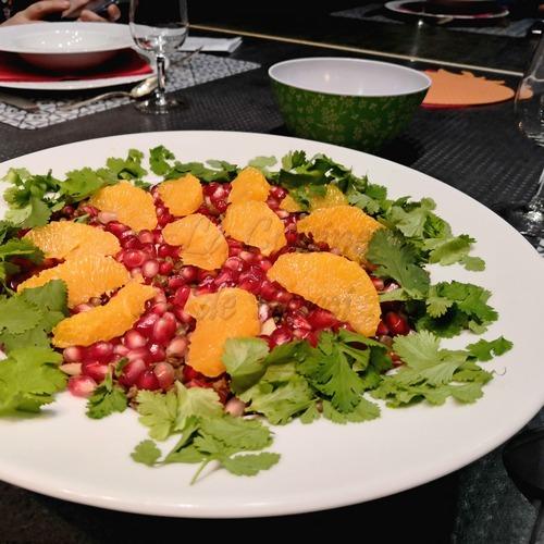 Salade de lentilles aux saveurs acidulées et vanillées
